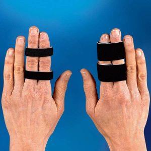 tvillingsbandage fingrar