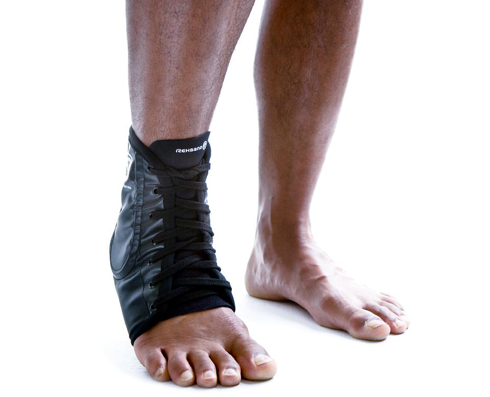 lace up ankle för stabilisering av fotleden