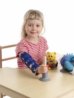 armbågsskydd och ortos för barn