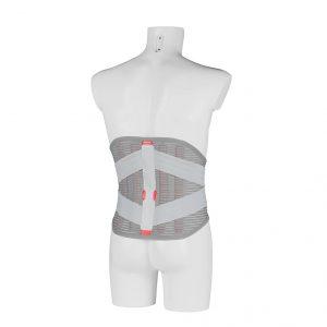 stabiliserar ländrygg och nedre bröstryggen