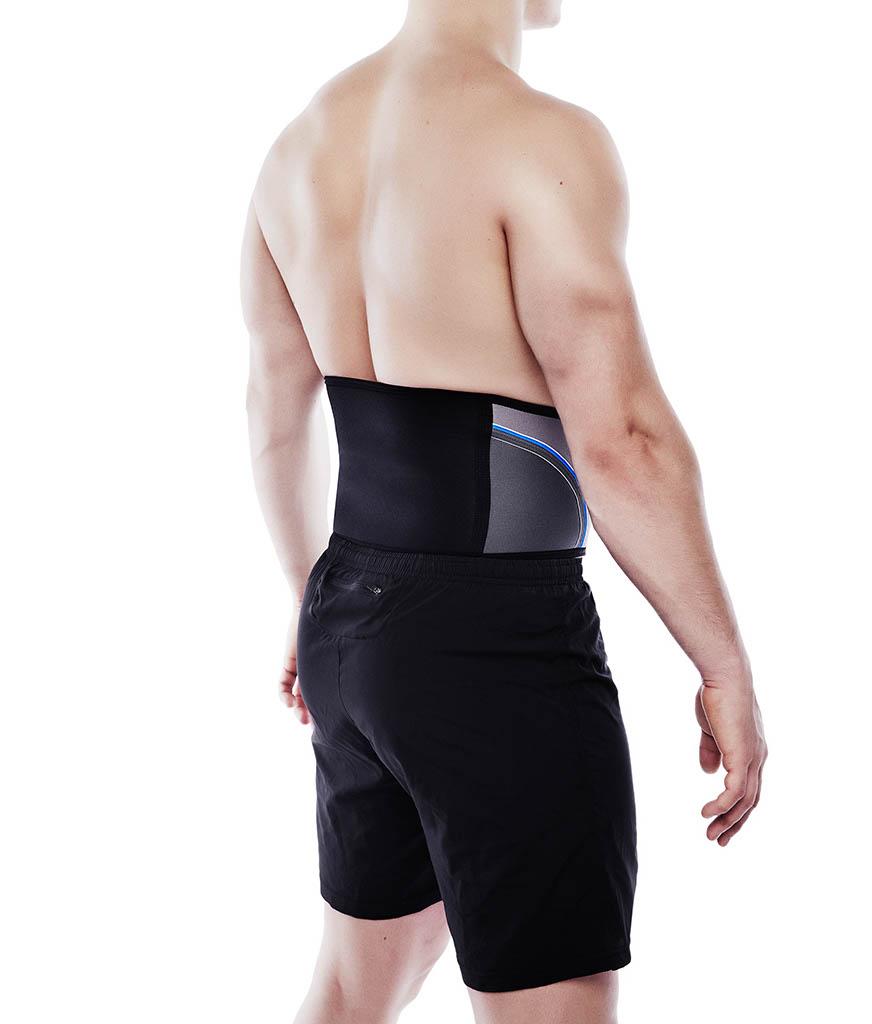 ryggstöd som stabiliserar ryggen