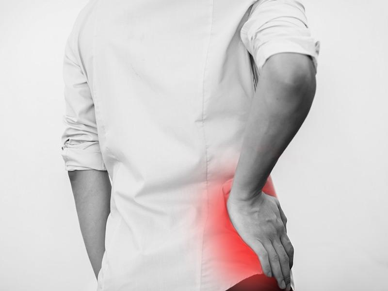 Trokanterit överbelastning och inflammation av höften