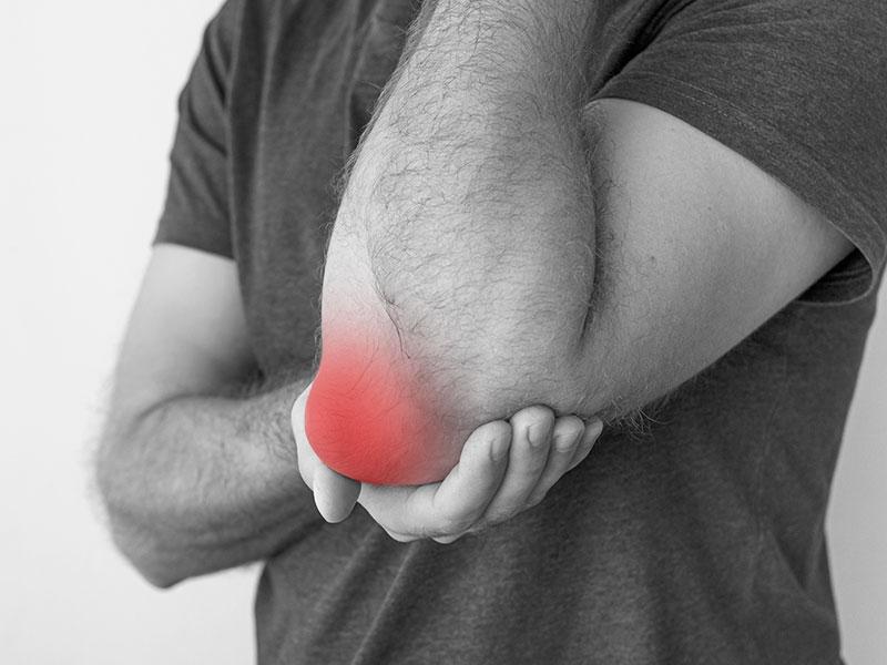 inflammation armbåge behandling